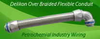 Over Braided Flexible Conduit for Petrochemial Industry Wiring (Hazardous Location Cable Conduit)
